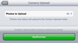 Camera Upload