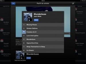 Previa das músicas de um artista no iTunes Festival London 2012