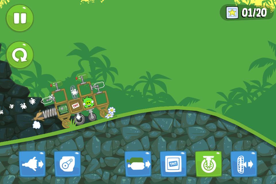 Bad piggies - Minha criação