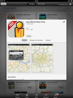Street View no iOS 6
