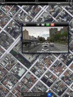 usar o Street View no iOS 6