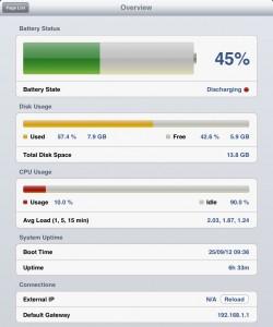 Informações gerais sobre o iPad