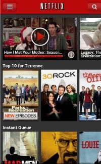Netflix atualização Android