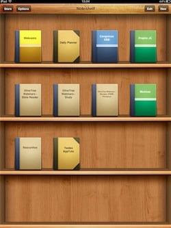 Noteshelf - cadernos