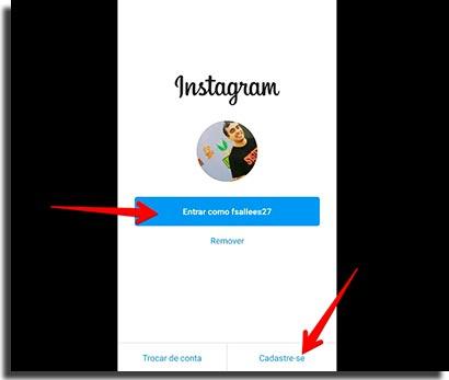 review do instagram login