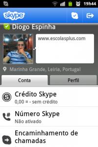 skype perfil