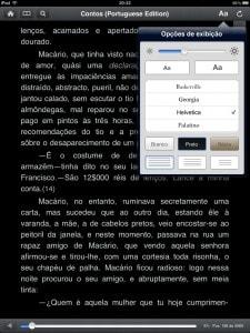 Kindle - com fundo escuro