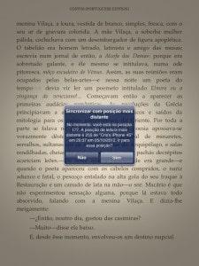 Kindle - sincronismo