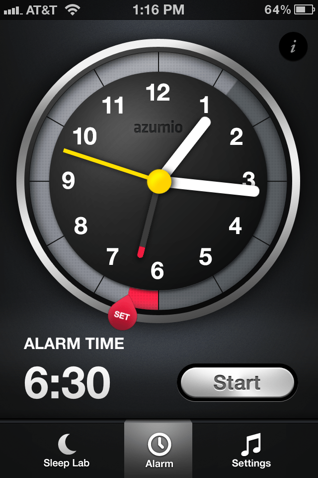 Relógio do Sleep Time