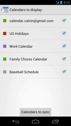 google agenda calendarios