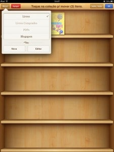 Coleções de livros do iBooks