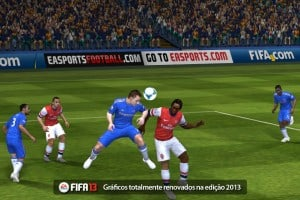 In-game do Fifa 13 para iPad e iPhone