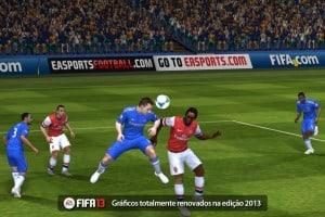 In-game do Fifa 13 para iPad e iPhone
