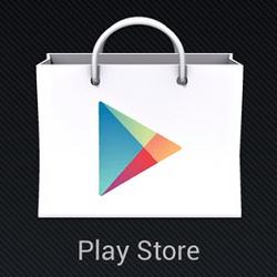 Ícone da loja de aplicativos Google Play Store.