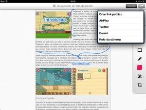 Skitch usar o app