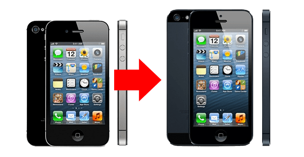iphone4 para iphone5