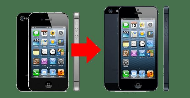 iPhone antigo para iphone5