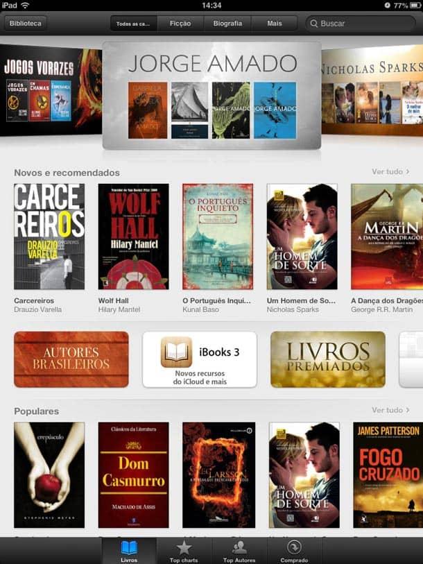 Loja de livros da Apple - iBookstore