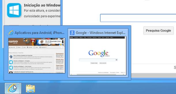 Desktop no PC multiplas janelas