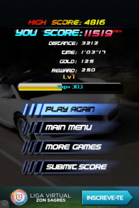 speed night score
