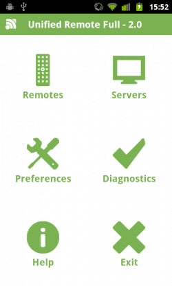 unified remote opcoes