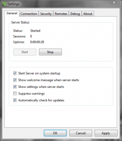 unified remote windows
