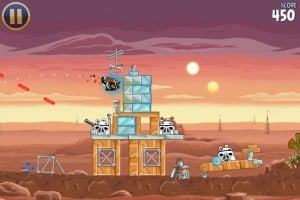 Angry Birds Star Wars - em Tatooine