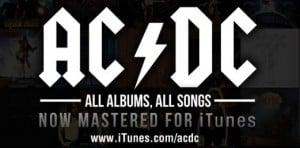 AC/DC agora disponível no iTunes