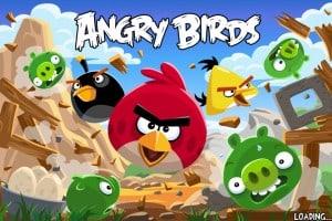 Angry Birds - tela de abertura