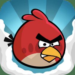Angry Birds gratuito na AppStore e um angry bird roqueiro
