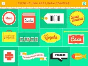 app Aprender Idiomas areas