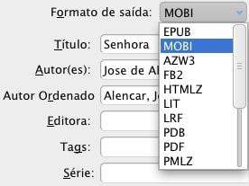 Como converter ebooks formatos