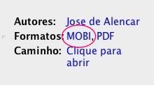 Como converter ebooks formato MOBI