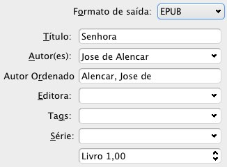 Calibre - formato EPUB
