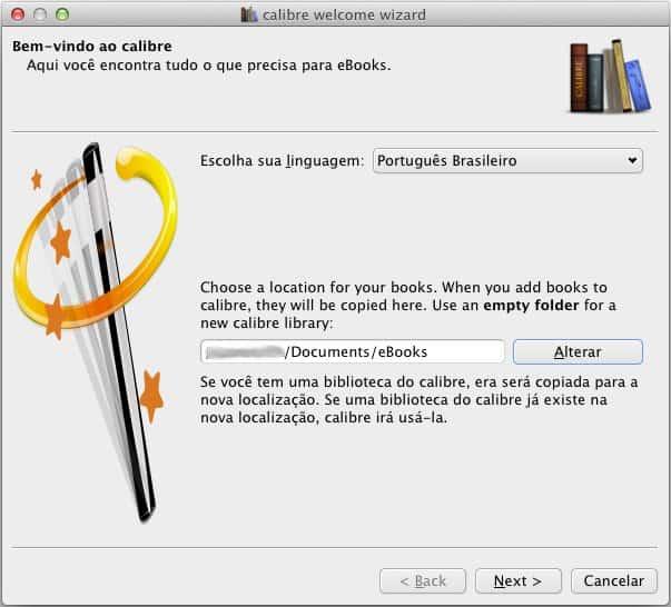 Como converter ebooks instalação