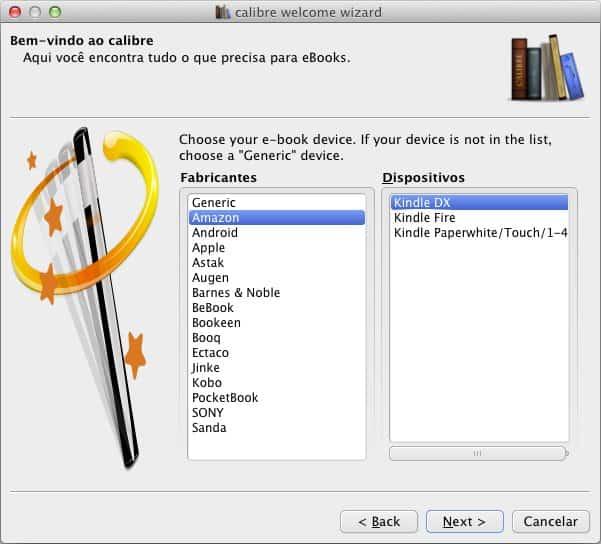 Como converter ebooks Calibre