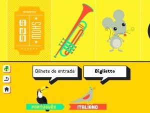 app Aprender Idiomas aprendizagem