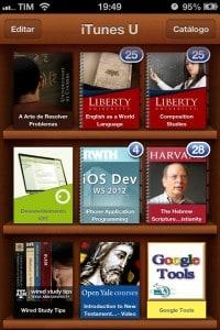 iTunesU - Biblioteca