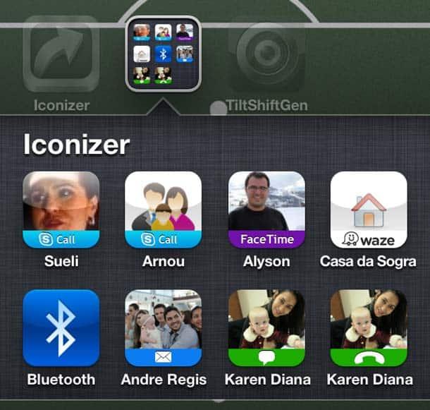 Atalhos personalizados no iPhone