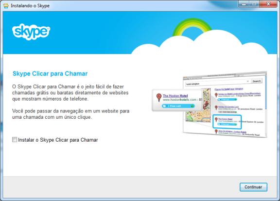contatos do MSN configurações