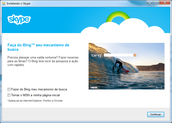 contatos do MSN migração