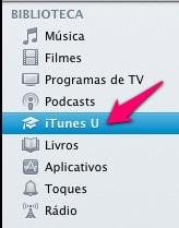 iTunes U - biblioteca