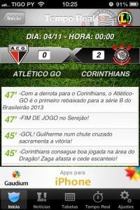 Jogos de futebol ao vivo no Brasileirão Lance!