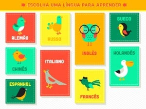 app Aprender idiomas para iPad