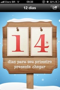 12 dias de presentes - tela principal