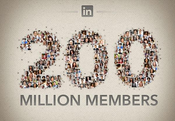 LinkedIn atinge os 200 milhões de usuários