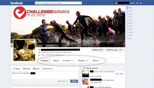Facebook pretende ter apenas uma coluna