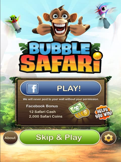 Bubble Safari