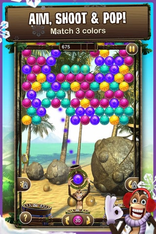 Bubble Safari para iPhone