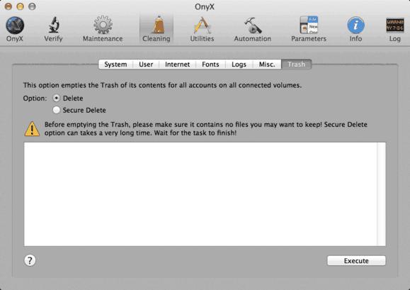 esvaziar a lixeira do Mac dicas